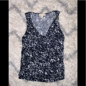 Michael Kors Large Embellished Slouch Front Tank